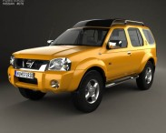3D model of Nissan Paladin 2003