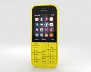 3D model of Nokia 220 Yellow