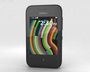 3D model of Nokia Asha 230 Black