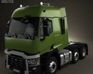 3D model of Renault T Tractor Truck 2013