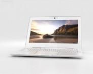 3D model of Samsung Chromebook 2 11.6 inch Classic White
