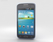 3D model of Samsung Galaxy Core Metallic Blue