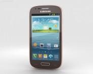 3D model of Samsung Galaxy S III Mini Amber Brown