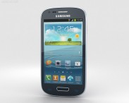 3D model of Samsung Galaxy S III Mini Blue