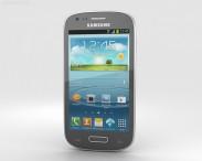 3D model of Samsung Galaxy S III Mini Titan Gray
