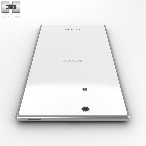 Sony Xperia Z Ultra White 3D model - Humster3D
