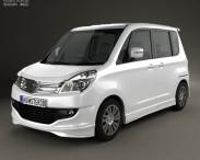3D model of Suzuki Solio S 2012