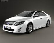 3D model of Toyota Camry Hybrid 2011
