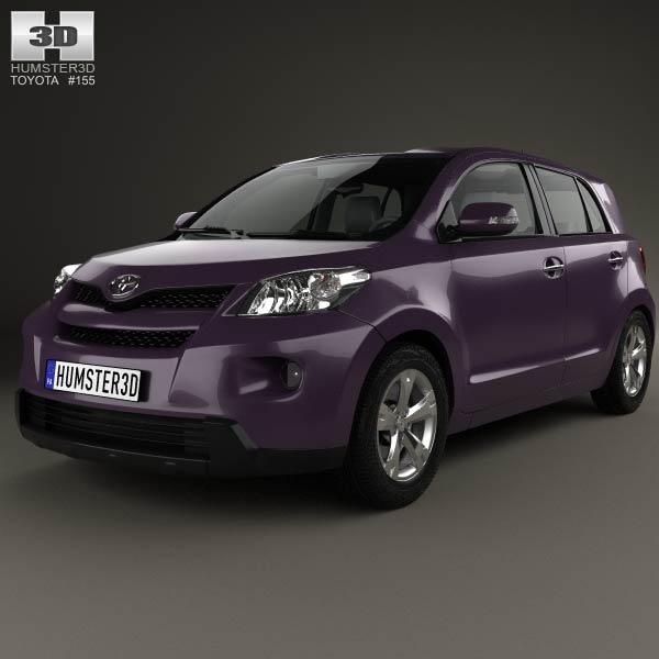 3D model of Toyota Urban Cruiser 2008