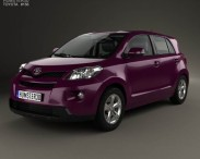3D model of Toyota Urban Cruiser with HQ interior 2008