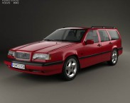 3D model of Volvo 850 wagon 1992
