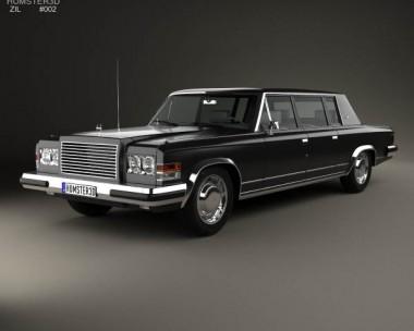 ZIL 4104 1978 3d car model