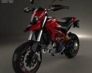 3D model of Ducati Hypermotard 2013