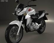 3D model of Honda CB300R 2014