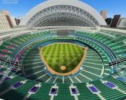 3D model of Rogers Centre Baseball Stadium