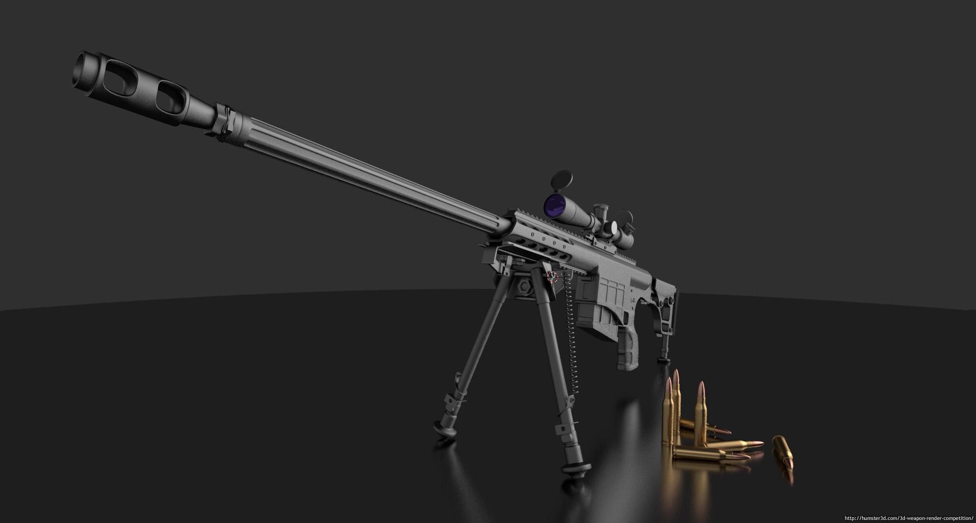 m98b sniper rifle - photo #1