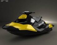 3D model of BRP Sea-Doo Spark 2013