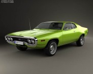 3D model of Plymouth Satellite 1971
