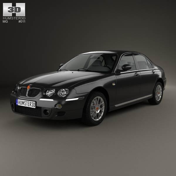 3D model of MG 7 2008