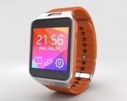 3D model of Samsung Galaxy Gear 2 Orange