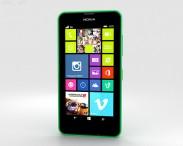 3D model of Nokia Lumia 630 Bright Green