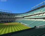 3D model of Rangers Ballpark Baseball Stadium