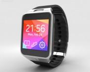 3D model of Samsung Galaxy Gear 2 Charcoal Black