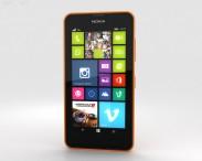 3D model of Nokia Lumia 630 Bright Orange