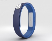 3D model of Sony Smart Band SWR10 Dark Blue