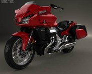 3D model of Honda CTX1300 2012