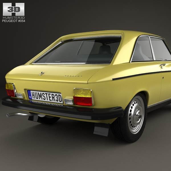 peugeot 304 coupe 1970 3d model humster3d. Black Bedroom Furniture Sets. Home Design Ideas