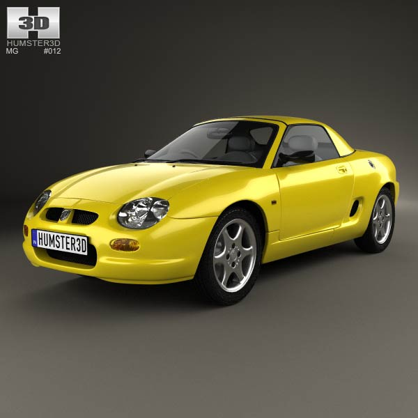 3D model of MG F 1999