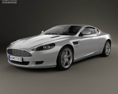 3D model of Aston Martin DB9 2004