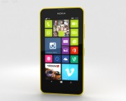 3D model of Nokia Lumia 630 Bright Yellow