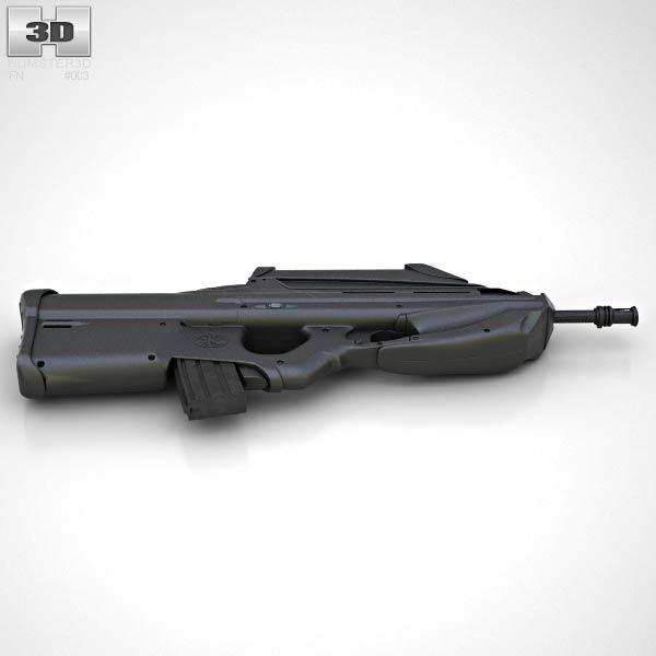 FN F2000 3D model - Humster3D
