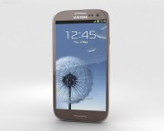 3D model of Samsung Galaxy S3 Neo Amber Brown