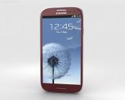 3D model of Samsung Galaxy S3 Neo Garnet Red