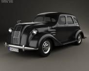 3D model of Toyota AA 1940