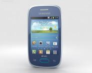 3D model of Samsung Galaxy Pocket Neo Blue