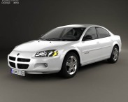 3D model of Dodge Stratus 2001