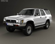 3D model of Toyota 4Runner 1992