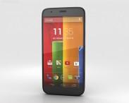 3D model of Motorola Moto G Black