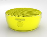 3D model of Nokia Portable Wireless Speaker MD-12 Yellow