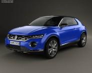 3D model of Volkswagen T-Roc 2014