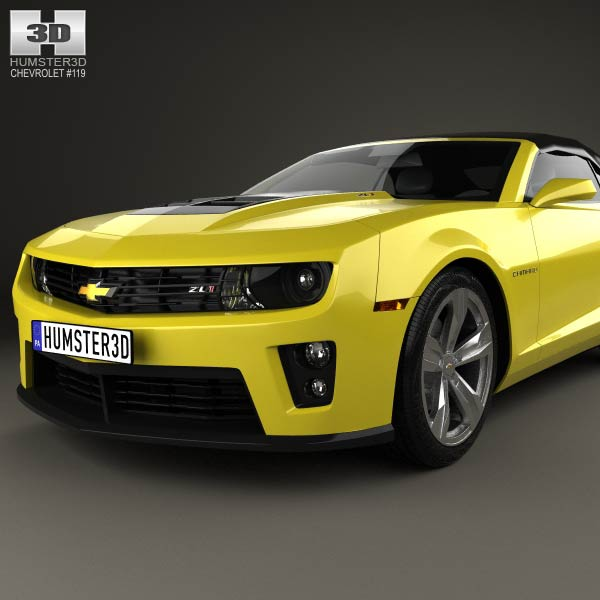 chevrolet camaro zl1 convertible 2014 3d model humster3d. Cars Review. Best American Auto & Cars Review