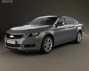 3D model of Chevrolet Impala LS 2014