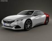 3D model of Peugeot Exalt 2014