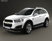 3D model of Chevrolet Captiva LTZ 2013