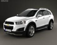 3D model of Chevrolet Captiva LTZ 2013