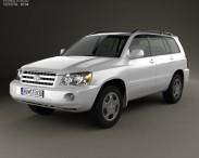 3D model of Toyota Highlander (XU20) 2003